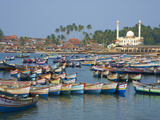 Vizhinjam  Fishing Harbour Near Kovalam  Kerala  India  Asia