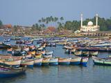 Vizhinjam  Fishing Harbour Near Kovalam  Kerala  India  Asia