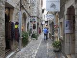 St Paul De Vence  Medieval Village  Alpes Maritimes  Provence  Cote D'Azur  France  Europe