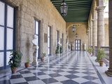 Palacio De Los Capitanes Generales  Havana  Cuba  West Indies  Central America