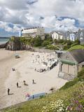 South Beach  Tenby  Pembrokeshire  Wales  United Kingdom  Europe