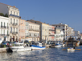 The Waterfront at Setes  Languedoc-Roussillon  France  Europe