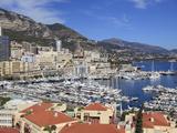 Port Hercule  Monte Carlo  Monaco  Cote D'Azur  Mediterranean  Europe
