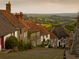 Gold Hill  Shaftesbury  Dorset  England  United Kingdom  Europe