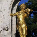 Statue of Johann Strauss  Stadtpark  Vienna  Austria  Europe