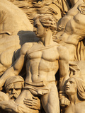 The Resistance by Antoine Etex  Dating from 1814  Sculpture on the Arc De Triomphe  Paris  France  