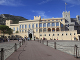 Princes of Grimaldi Palace  Royal Palace  Monaco  Cote D'Azur  Mediterranean  Europe
