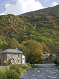 Beddgelert  Snowdonia National Park  Wales  United Kingdom  Europe