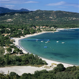 San Ciprianu Beach  Near Porto Vecchio  South East Corsica  Corsica  France  Mediterranean  Europe