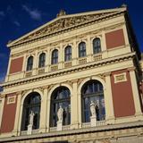 Exterior of Musikverein Concert Hall  Vienna  Austria  Europe