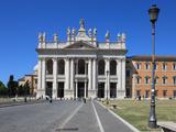Basilica Di San Giovanni in Laterano  Rome  Lazio  Italy  Europe