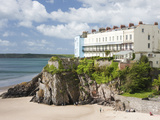 South Beach  Tenby  Pembrokeshire  Wales  United Kingdom  Europe