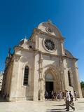 Katedrala Sv Jakova (St James Cathedral)  UNESCO World Heritage Site  Sibenik  Dalmatia Region  C