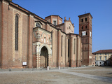 Cathedral  Asti  Piedmont  Italy  Europe