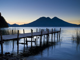 Lake Atitlan  Western Highlands  Guatemala  Central America
