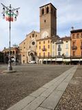 Duomo  Piazza Della Vittoria  Lodi  Lombardy  Italy  Europe