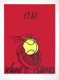 Roland Garros  1980 (red)