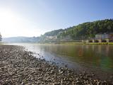 River Elbe  Saxon Switzerland  Saxony  Germany  Europe