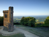 Leith Hill Tower  Highest Point in South East England  View Sout on a Summer Morning  Surrey Hills