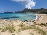 Falassarna Beach  Falassarna  Chania Region  Crete  Greek Islands  Greece  Europe