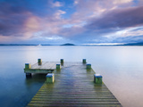 Lake Rotorua  North Island  New Zealand  Pacific