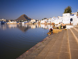 Pushkar Lake  Rajasthan  India  Asia