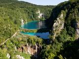Plitvice Lakes National Park  UNESCO World Heritage Site  Croatia  Europe
