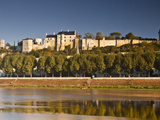 The Chateau of Chinon  UNESCO World Heritage Site  Indre-Et-Loire  Loire Valley  France  Europe