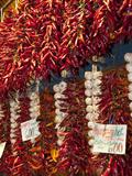 Paprika and Garlic  Central Market (Kozponti Vasarcsarnok)  Budapest  Hungary  Europe