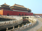 River of Gold  Forbidden City  Beijing  China  Asia
