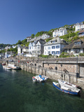 Riverside Properties at Looe  Cornwall  England  United Kingdom  Europe