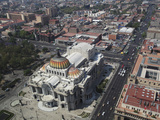 Palacio De Bellas Artes  Historic Center  Mexico City  Mexico  North America