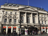 Classical Facade of the Ripley's Believe it or Not! Museum  Piccadilly Circus  London  England  Uni