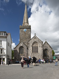 St Mary's Church  Tenby  Pembrokeshire  Wales  United Kingdom  Europe