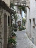 St Paul De Vence  Medieval Village  Alpes Maritimes  Cote D'Azur  Provence  France  Europe