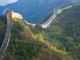 Overview of Weathered Section  Great Wall of China  UNESCO World Heritage Site  Huanghuacheng (Yell