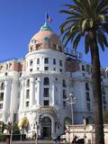 Hotel Negresco  Promenade Des Anglais  Nice  Alpes Maritimes  Cote D'Azur  French Riviera  Provence