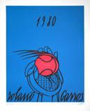 Roland Garros  1980 (blue)