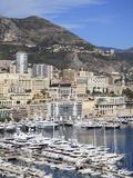 Port Hercule  Harbor  Monte Carlo  Monaco  Cote D'Azur  Mediterranean  Europe