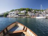 Water Taxi Crosses the River Looe in Looe  Cornwall  England  United Kingdom  Europe