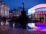 Piccadilly Circus  London  England  United Kingdom  Europe