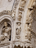 Medieval Carvings of Signs of the Zodiac  North Porch  Chartres Cathedral  UNESCO World Heritage Si