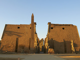 Obelisk of Ramesses Ii  Temple of Luxor  Thebes  UNESCO World Heritage Site  Egypt  North Africa  A