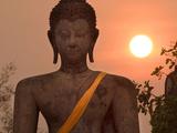 Wat Mahathat  Sukhothai Historical Park  UNESCO World Heritage Site  Sukhothai Province  Thailand