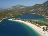 Lagoon Beach  Olu Deniz  Near Fethiye  Aegean  Anatolia  Turkey  Asia Minor  Eurasia