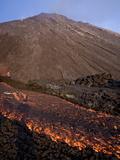 Volcan De Pacaya  Guatemala  Central America