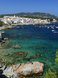 Calella De Palafrugell and Cap De St Sebastia  Costa Brava  Catalonia  Spain  Mediterranean  Europ
