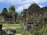 Cham Ruins  My Son  UNESCO World Heritage Site  Near Hoi An  South Central Coast  Vietnam  Indochin