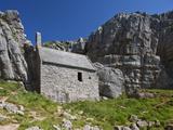 St Govan's Chapel  St Govan's  Pembrokeshire  Wales  United Kingdom  Europe