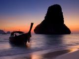Happy Island  Hat Phra Nang Beach  Railay  Krabi Province  Thailand  Southeast Asia  Asia